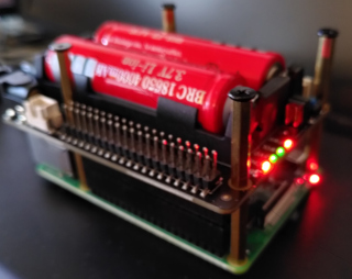 Raspberry Pi with X725 board